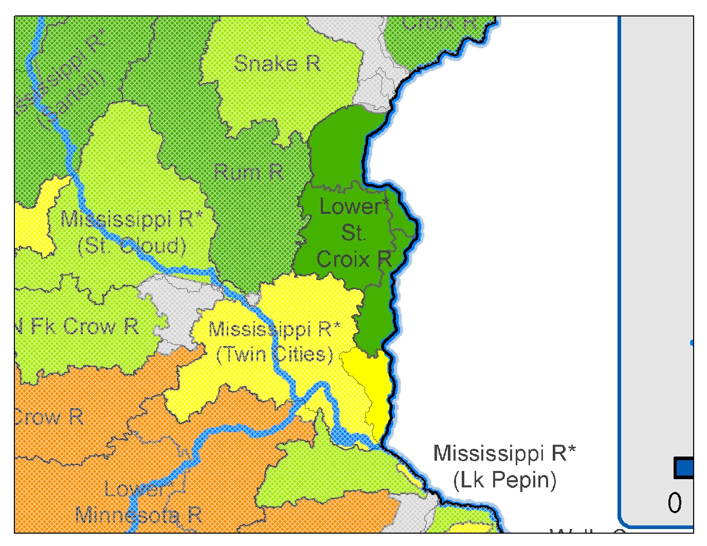WPLMN Total Nitrogen Yield Map