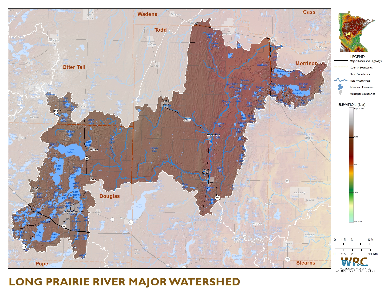Sauk River Watershed Map
