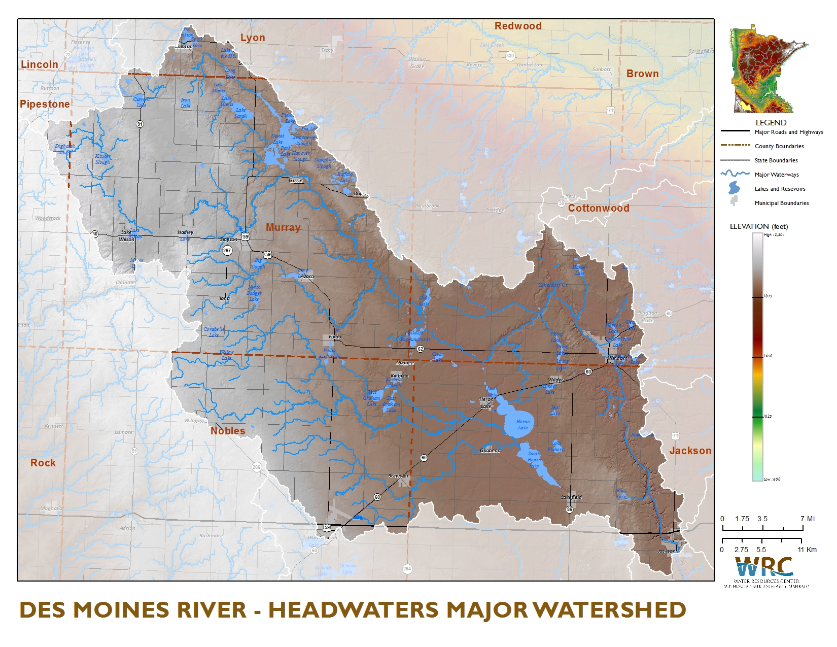 Des Moines River Watershed Minnesota Nutrient Data Portal