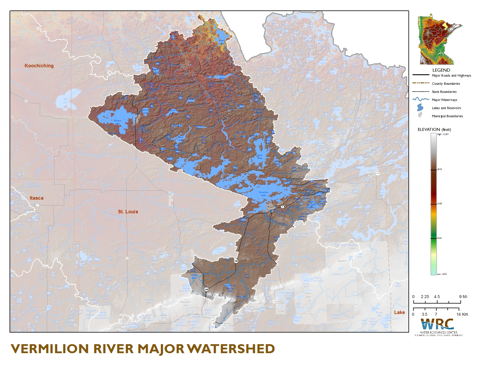 Vermillion River Watershed Minnesota Nutrient Data Portal