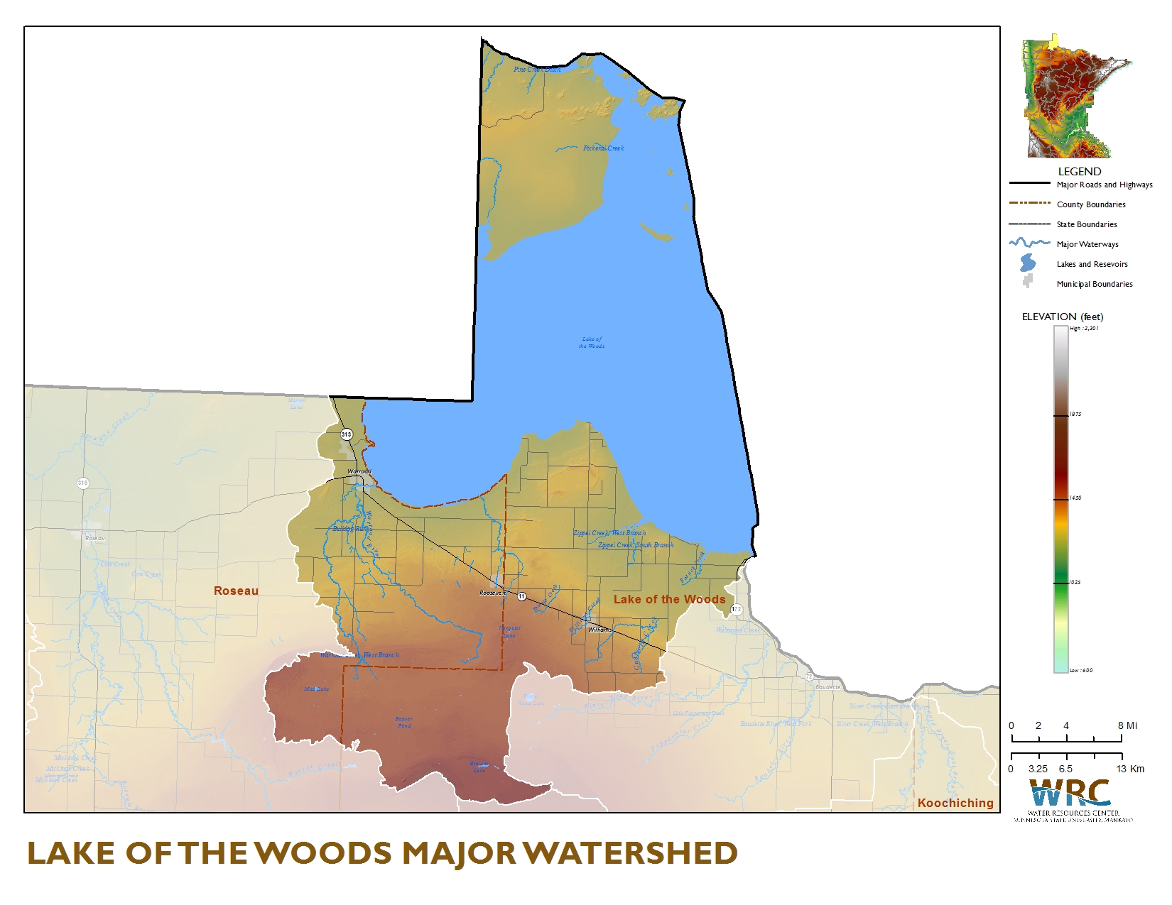Lake of the Woods Watershed | Minnesota Nutrient Data Portal