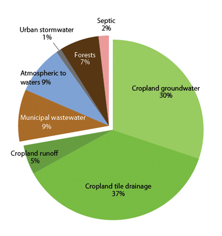 Statewide Nitrogen Sources - Pie Chart