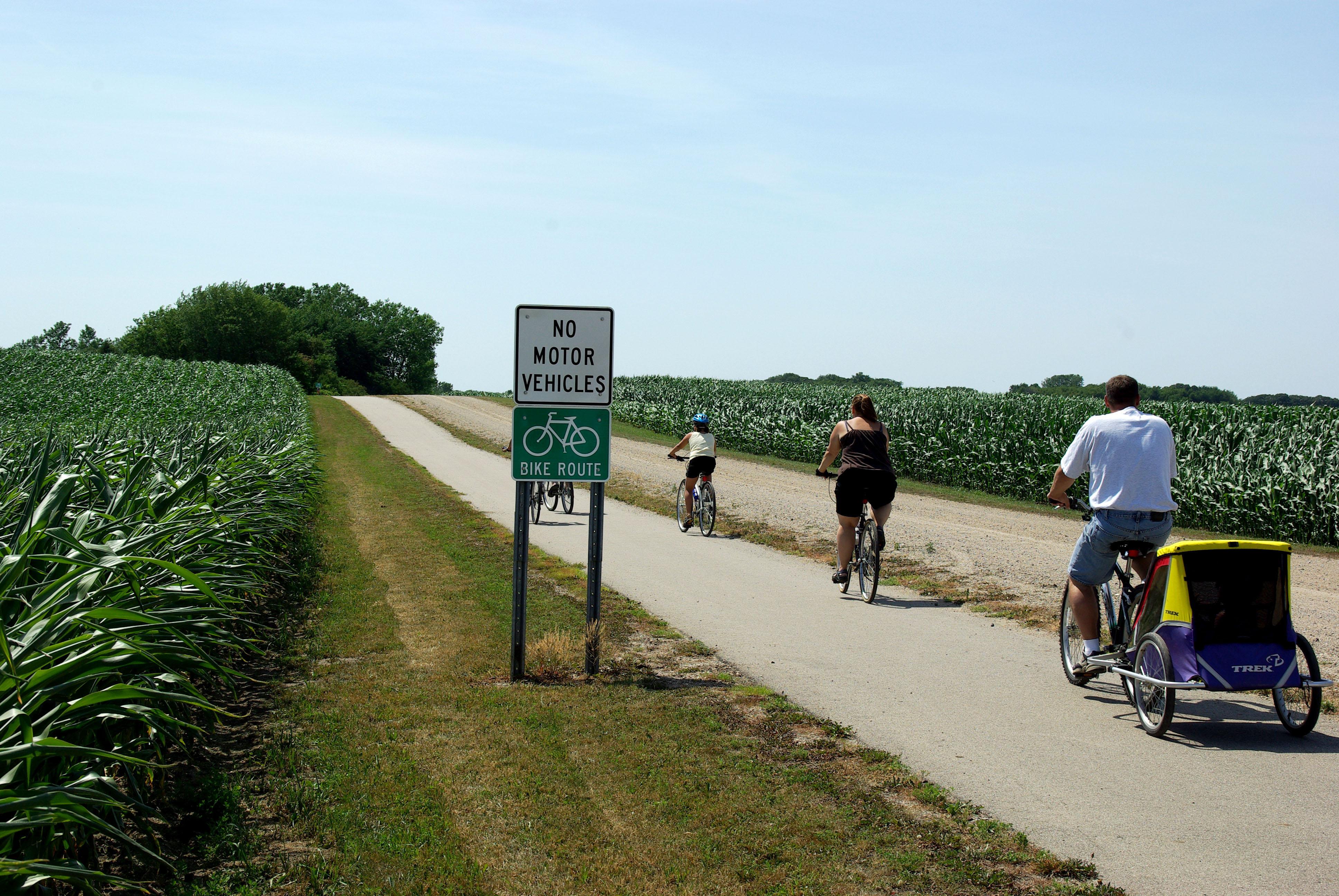 Biking Minnesota River Basin Data Center