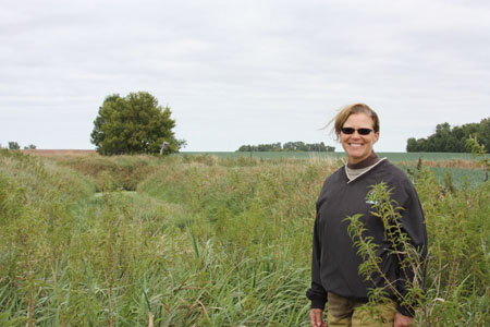 Mary Mueller, Farmer Conservationist