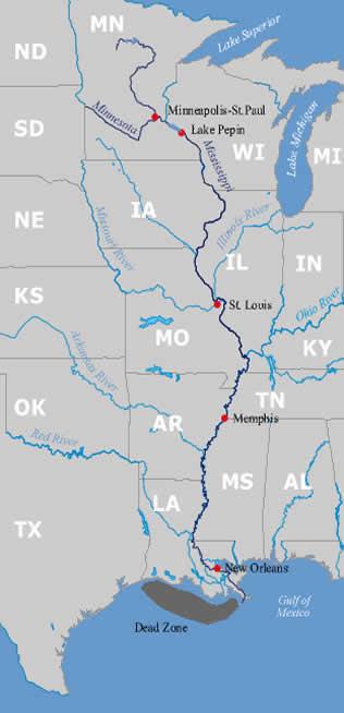 Minnesota To Mississippi Rivers Minnesota River Basin Data Center