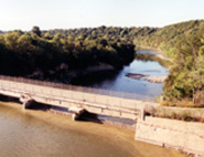 Blue Earth River Dam at Rapidan