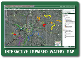 Interactive Impaired Waters Map