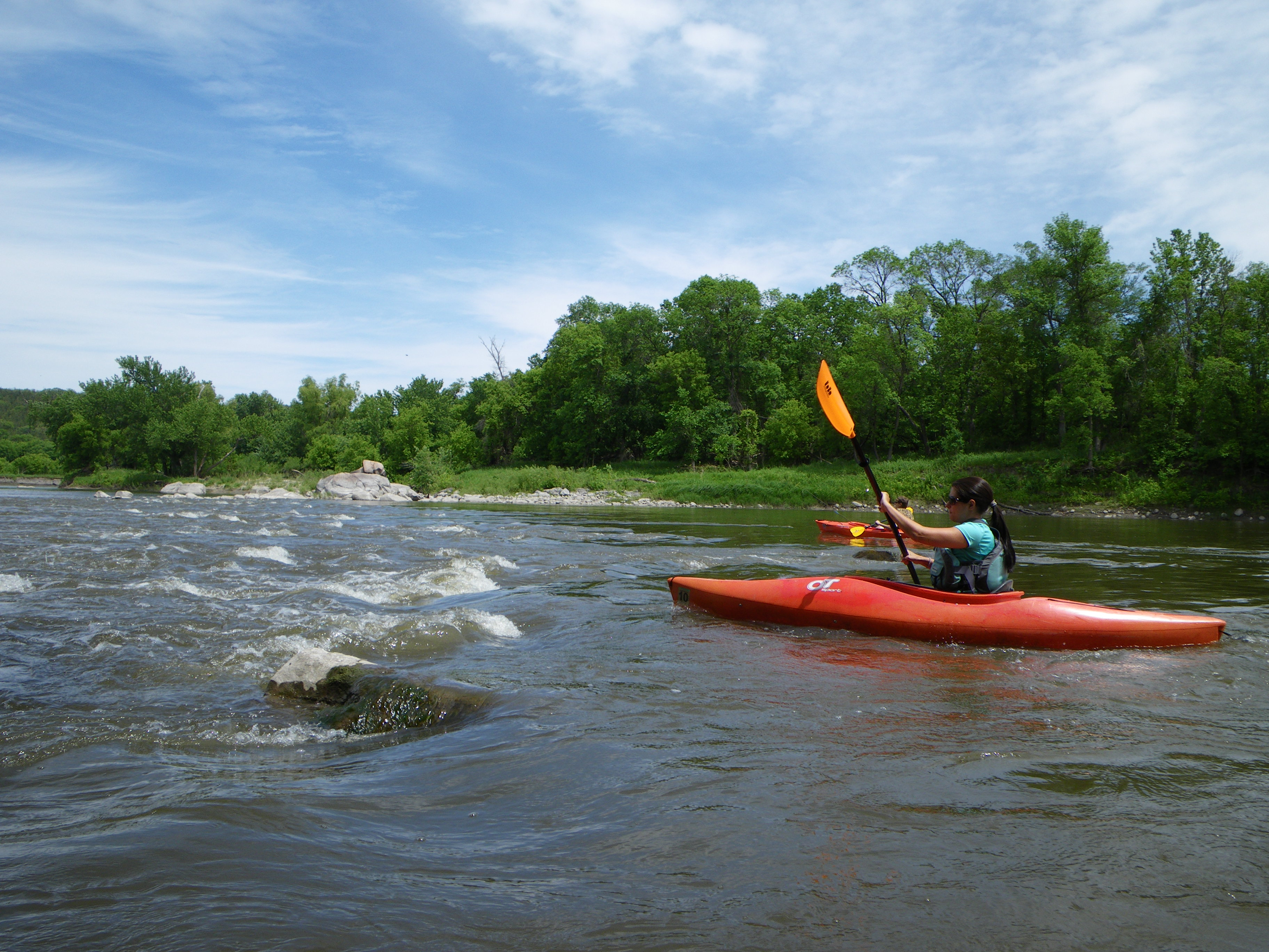 Kayaking the Minnesota River